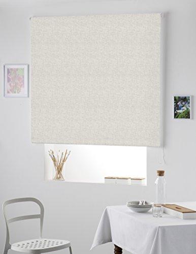 NATURALS Estor de Lino Natural translucido 180 x 200 cm