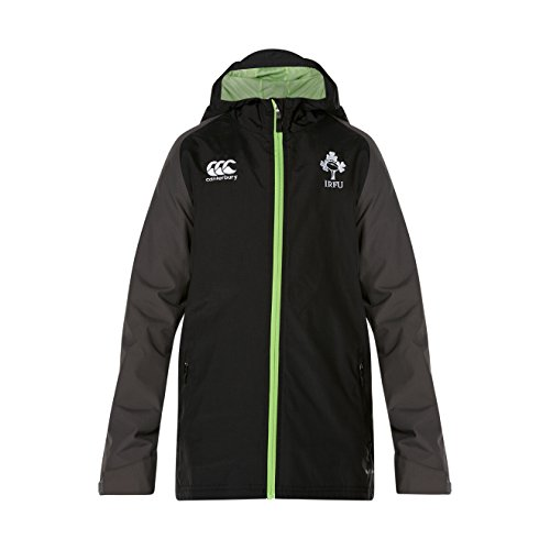 Canterbury Ireland Official 17/18 Kids Full Zip Jacket, Tap Shoe, Size 8