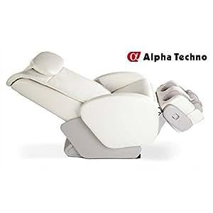 Alpha Techno - Fauteuil électrique massant AT7300 - Beige - de 60 à 80kg