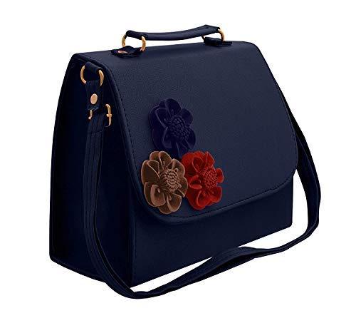 BFC-Women's Handbag, Sling Bag with Adjustable Strap for Ladies and Girls. (Dark...