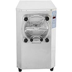 Olibelle 1500W 22L/H Machine à Crème Glacée Professionnelle en Acier Inoxydable Sorbetiere Electrique Commerciale Ice Cream Machine(YZBJL)