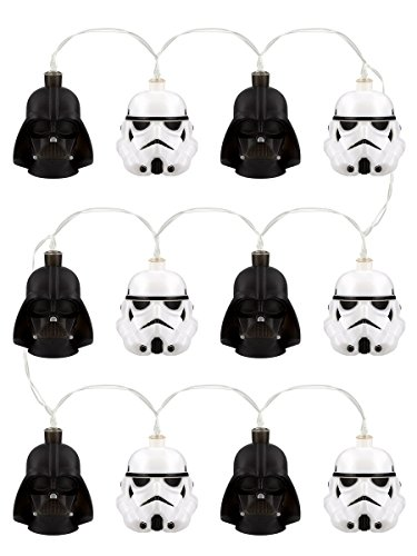 Lights Decoration Star Wars Stormtrooper & Darth Vader