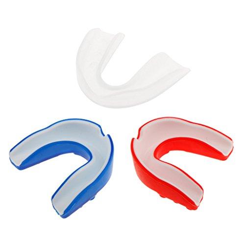 Sharplace 3 Stück Pack Mundschutz - Zahnschutz - Zahnschoner aus Hochwertig Silikon