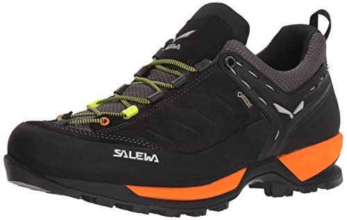 Salewa Herren MS MTN Trainer GTX Trekking-& Wanderhalbschuhe, Schwarz (Black Out/Holland 8668), 42.5 EU