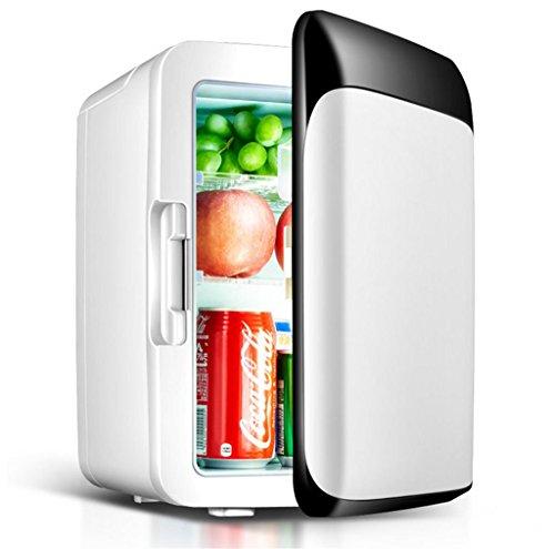 Auto Kühlschrank,ChunSe 10L Auto Kühlschrank Car Home Mini Kühlung Wohnraum Zimmer Kalte und warme Box Mini-Gefrierschrank 23 * 26 * 35cm Leistung 60W (10 Liter Trinken Kühler)