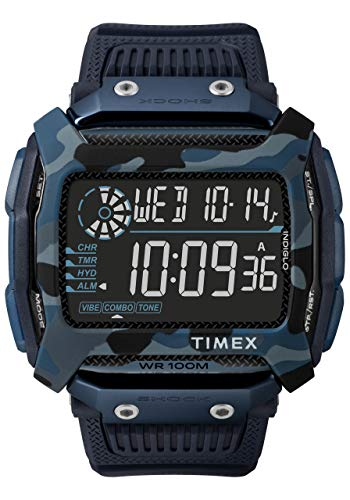 Timex Command Digital Watch for Men (Blue)