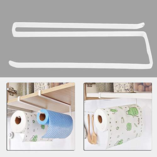 Kitchen Paper Holder Hanging Tissue Towel Rack Paper Holder Kitchen Cabinet Storage Rack Paper Shelf Hanging Holder -