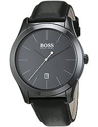 Hugo Boss Herren-Armbanduhr Analog Quarz Leder 1513224
