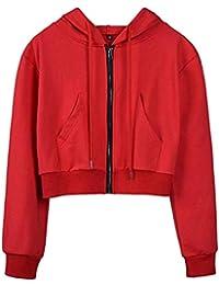 Amazon.es: chaquetas rojas mujer - Incluir no disponibles ...