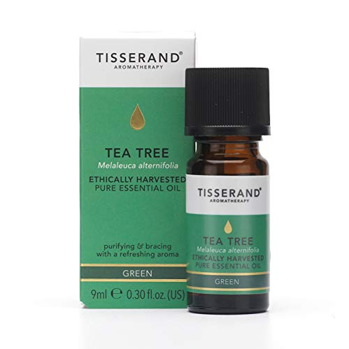 Tisserand Tea Tree Ethically Harvested Pure Essential Oil, 9 ml