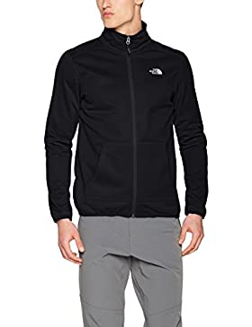 The North Face M Tanken Full Zip Chaqueta, Hombre, Negro (Black), L