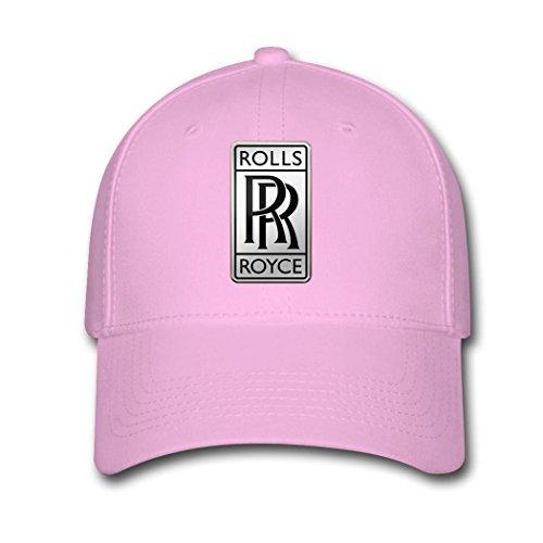 huseki-he-rolls-royce-digital-logo-adjustable-breathable-baseball-caps-pink