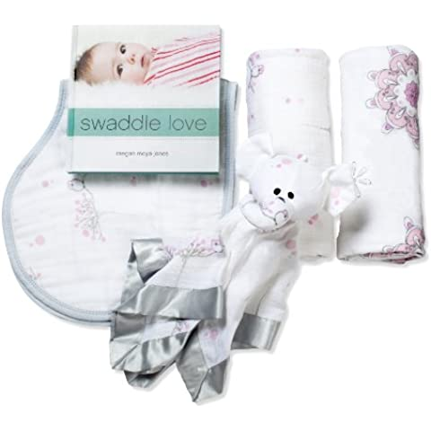 aden + anais new beginnings gift set, for the