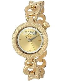 Just Cavalli R7253137617 - Orologio da polso da donna, cinturino in rivestito in acciaio inox colore oro