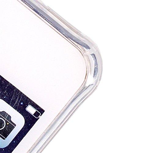 iPhone SE Coque, iPhone 5S Coque, Lifeturt [ Pie ] Housse Anti-dérapante Absorbant Chocs Protection Etui Silicone Gel TPU Bumper Case pour iPhone SE/5s/5 E02-Papillon talons
