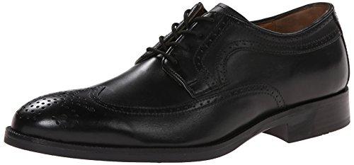 johnston-murphy-beckwith-uomo-us-11-nero-scarpe-stringhe