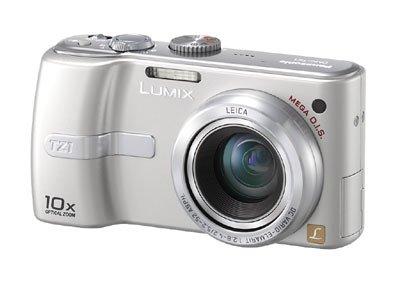 Panasonic DMC-TZ1BS Digital Camera [5MP, 10 X Optical Zoom, 2.5