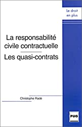 La responsabilité civile contractuelle : Les quasi-contrats
