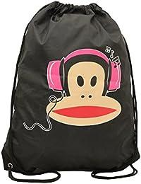 3358e87e3c Paul Frank, borsa frigo con coulisse, per la scuola, raffigurante Julius  Monkey,