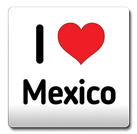 Nicht - Ich Liebe Mexiko Untersetzer Herz Geschenk Idee Weihnachten