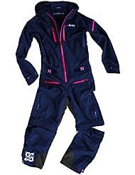 dirtlej dirtsuit core edition del traje de mal tiempo para todos los ciclistas en el parque, o Homezone Trail (azul / pink, M)