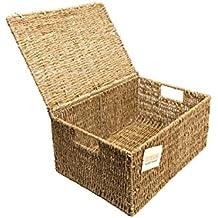 coffre osier. Black Bedroom Furniture Sets. Home Design Ideas