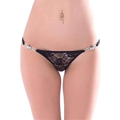 g strings damen Damen Schwarz Sensualle Poderosa exotischen Kleid G-Strings Thong panty