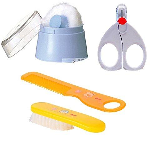 Rikang Baby Powder Puff, Baby Nail Cutter & Baby Comb...