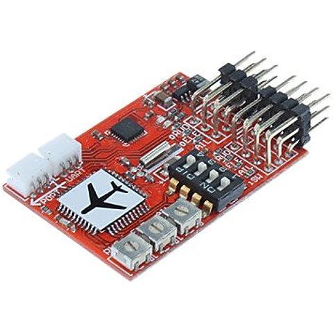 Piteng?JCX-M6 digitale regolatore di volo di RC RC FPV aereo ad ala fissa Airplane - Red