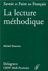 La lecture méthodique