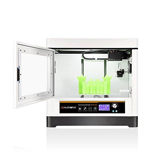 JGAURORA A8 Voll Metallrahmen Struktur FDM 3d Drucker maschine, Große 3d Drucker mit 350 * 250 * 300mm Build Größe - 3