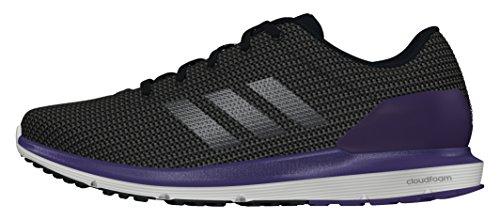 adidas Damen Cosmic W Laufschuhe Black (Negbas / Hiemet / Puruni)