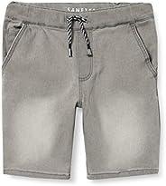 Sanetta Hose aus Strickstoff Grau Jeans Bambino