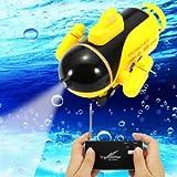 SLB Works Brand New Mini Radio Racing RC Submarine Remote Control Boat Toy