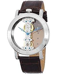 Burgmeister Herren-Armbanduhr Analog Handaufzug Kunstleder BM331-105
