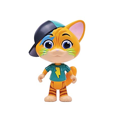 Smoby 44 gatti luci e suoni cm.15-4 asst personaggi e playset, multicolore, 3032161801261