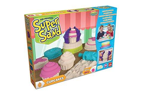 *Goliath 83240 | Super-Sand-Set Cupcakes | bunte Muffins aus Spiel-Sand backen | vielseitige Kuchenformen für kleine Meisterbäcker | tolle Leckereien zaubern | ab 4 Jahren*