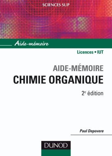 Aide-mmoire de chimie organique