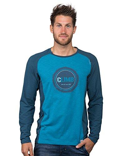 Chillaz Herren Krabi Climb Longsleeve, Blue, S