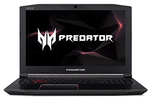 Acer Predator Helios 300 Gaming Notebook, 15.6 inch FHD 144Hz 3ms IPS Display, Intel i7-9750H, GTX 1660 Ti 6GB, 16GB DDR4, 256GB PCIe NVMe SSD, American English Backlit Keyboard