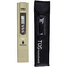 Medidor de TDS portátil AquaHouse AH y probador digital de la calidad del agua del termómetro