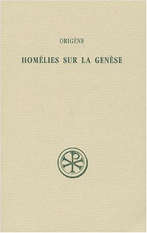 Homélies sur la Genèse