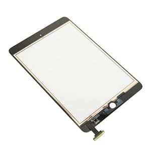 écran pour l'écran Vitre tactile iPad Mini Kit de remplacement de l'écran en verre Digitizer + Kit adhésif + outil spécial iPad (Full Do It Yourself Kit) Noir