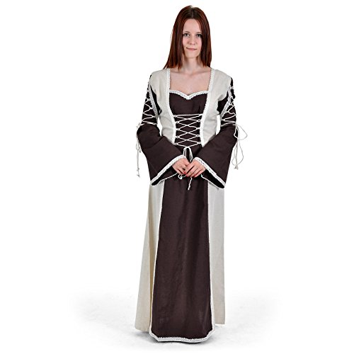 Bäres Zofenkleid - Damen Froni natur / braun (Disco Ära Halloween Kostüme)
