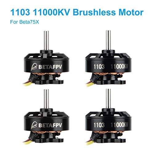 BETAFPV 4pcs 1103 11000KV Brushless Motor FPV RC Brushless Motors for 2S Lipo Battery 2S Frame Beta75X Beta85X Whoop Dro