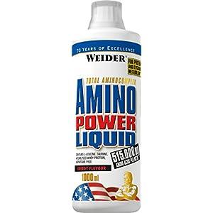 41JQOzocR8L. SS300  - Weider Amino Power Liquid 1L Cranberry, Essential Amino Acids, L-leucine, Free Taurine, Vitamin B7