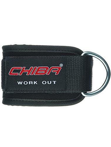 Chiba Trainingshilfe Beinschlaufen, Schwarz, One size, 40720