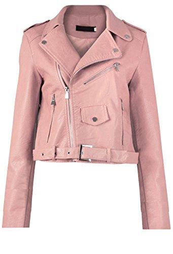 gg-femmes-nouvelles-faux-cuir-zip-crop-ladies-biker-veste-manteau