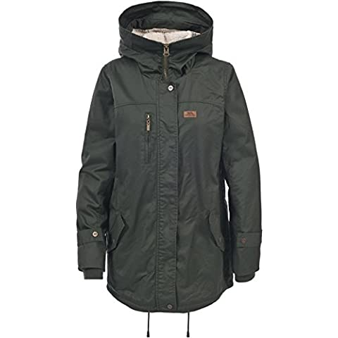 Trespass, Giacca Donna Ruth Casual, Verde (Olive),