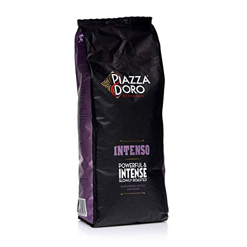 Piazza D'Oro Intenso Espresso 6 x 1Kg ganze Kaffee-Bohne